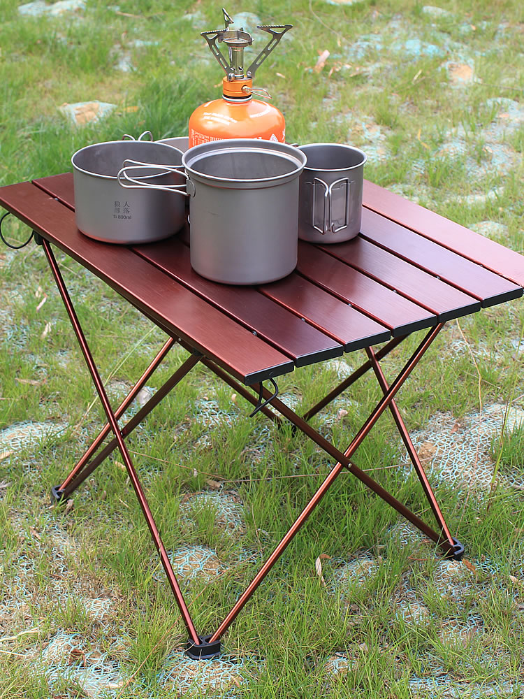 Camping Brunner Alu table pliante table de camping table weekender 120 x 60