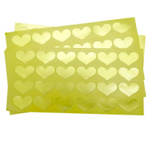 120pcs/pack For Wedding And Party Adhesive Cake Sweet Gift Stationery Gold Love Sealing Sticker