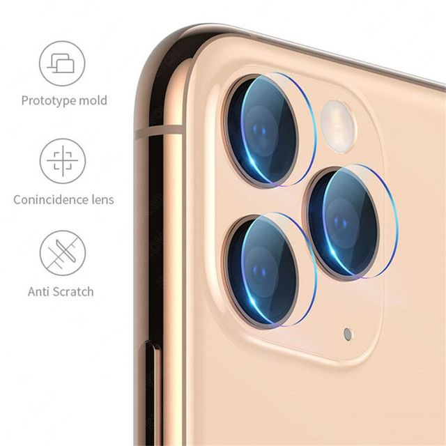 9D avant + arrière arrière + lentille Film de caméra pour iPhone 11 Pro Max 11 2019 verre trempé protecteur de Film d'écran complet pour iPhone 11 4