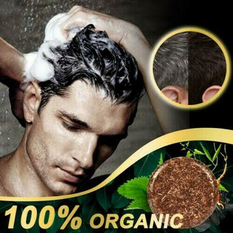 Doğal bitki kararan şampuan anti-saç dökülmesi nemlendirici ve repairinggentle formülü saç temizleme sabunu önlemek gri saç