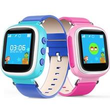 English Version Children Smart Watch Waterproof Kids Watches Touch Screen SOS Phone GPS Location Tracker Anti-Lost Child Watch