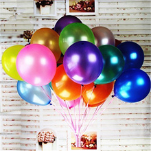 100pcs/lot 12Inch 3.2g Pearl Latex Balloon Inflatable Air Happy Balloons Birthday Party Decorations Kids Wedding Ballon