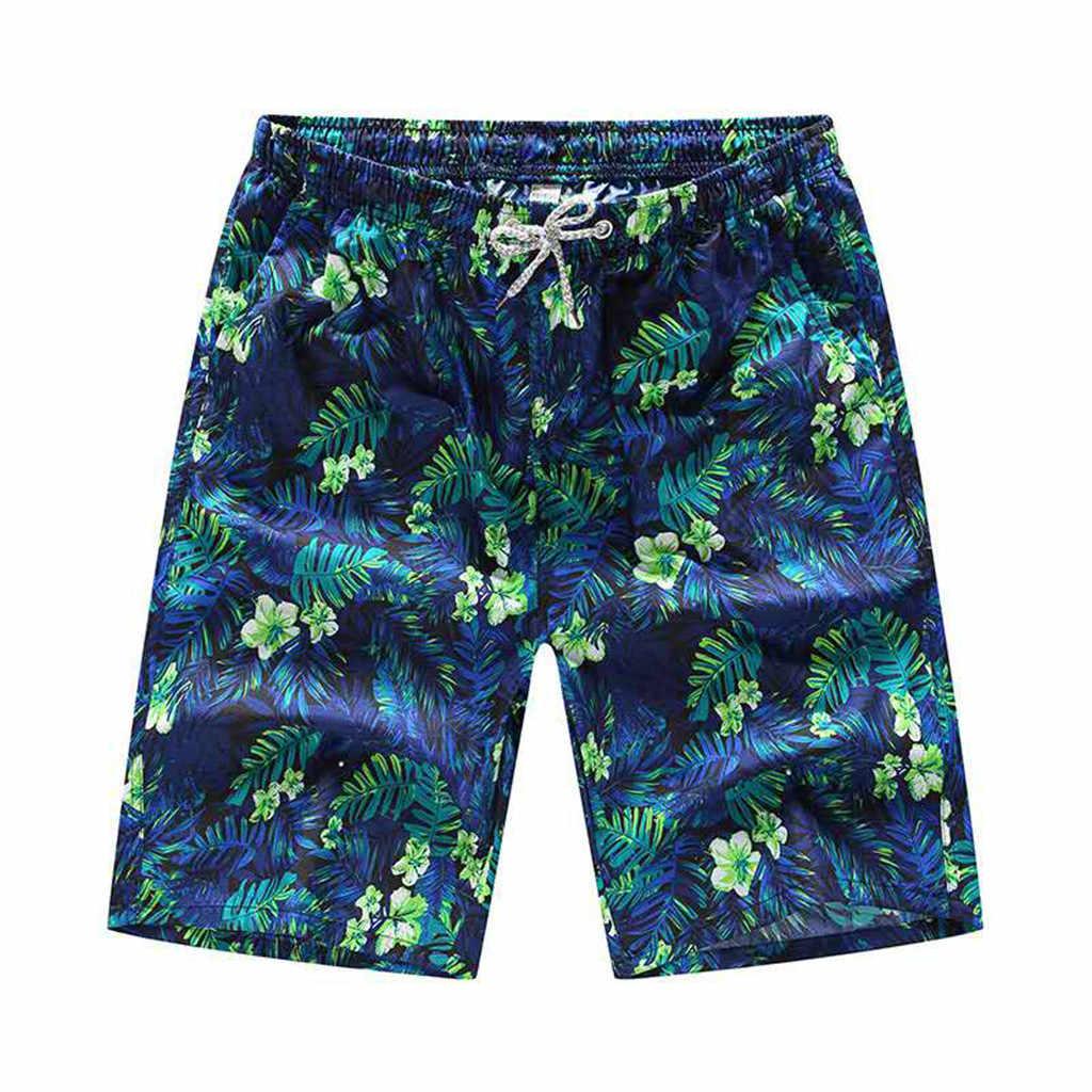 2019 Datifer пляжные короткие летние быстросохнущие мужские s цветные шорты