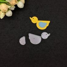 Металлические Вырубные штампы цыпленок Скрапбукинг Фотоальбом