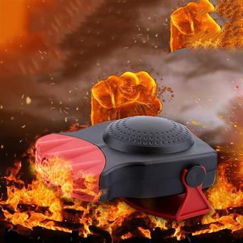 Uniwersalne grzejniki samochodowe odmrażacze pojazdów 12V maszyny grzewcze i chłodzące trzyotworowe grzejniki do pojazdów tanie i dobre opinie Rdzeń nagrzewnicy 190812654 Car heater 190812655 190812656 Plastic 150W