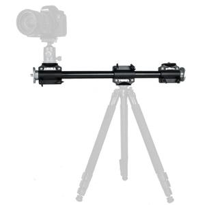 Image 4 - Cadiso Camera Boom Mount Extension Horizontal Tripod Cross Bar Arm Steeve Support Bracket Professional Tripod Vertical Shooting