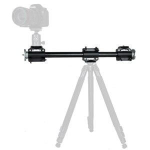 Image 4 - Cadiso Soporte de brazo para cámara, extensión de trípode Horizontal, barra de brazo cruzada, soporte profesional, Disparo Vertical