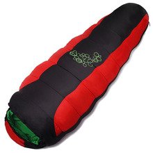 Sleeping-Bags Thickening Camping-Movement Portable Fill Mountaineering Cotton C08 Four-Holes
