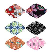 Random Color 1PC Washable Reusable Sanitary Towel Sanitary Napkin Menstrual Pad for Female