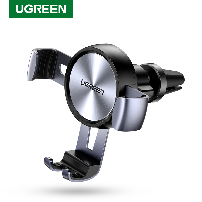 Ugreen Car Phone Holder For Mobile Smartphone Support In Car Auto Vent Mount Gravity Holder Stand Cell Phone Stand For IPhone 11