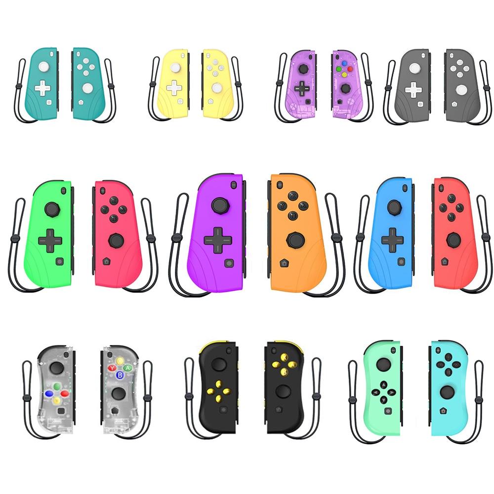Беспроводной Bluetooth-контроллер, геймпад для консоли Nintendo Switch, датчик вибрации, с джойстиком с рукояткой для игр, левый и правый джойстик, конт...