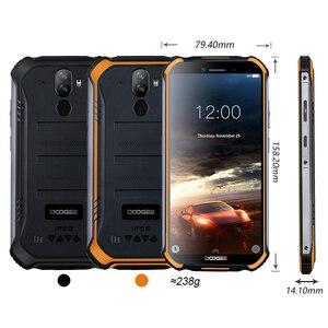 Image 5 - Doogee teléfono inteligente S40 lite, teléfono móvil resistente con Android 9,0 os, pantalla de 5,5 pulgadas, batería de 4650mAh, procesador MT6580, Quad Core, 2GB RAM, 16GB ROM, cámara de 8.0MP, IP68/IP69K