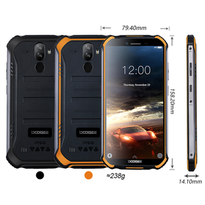 Image 5 - New DOOGEE S40 lite Rugged Android 9.0 Mobile Phone 5.5 inch Display 4650mAh MT6580 Quad Core 2GB RAM 16GB ROM 8.0MP IP68/IP69K