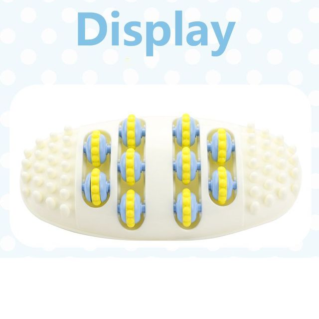 Plastic Foot Roller Massage Reflexology Relax Relief Massager Spa Gift Anti Cellulite Foot Relaxing Massager Relaxing Supplies 4