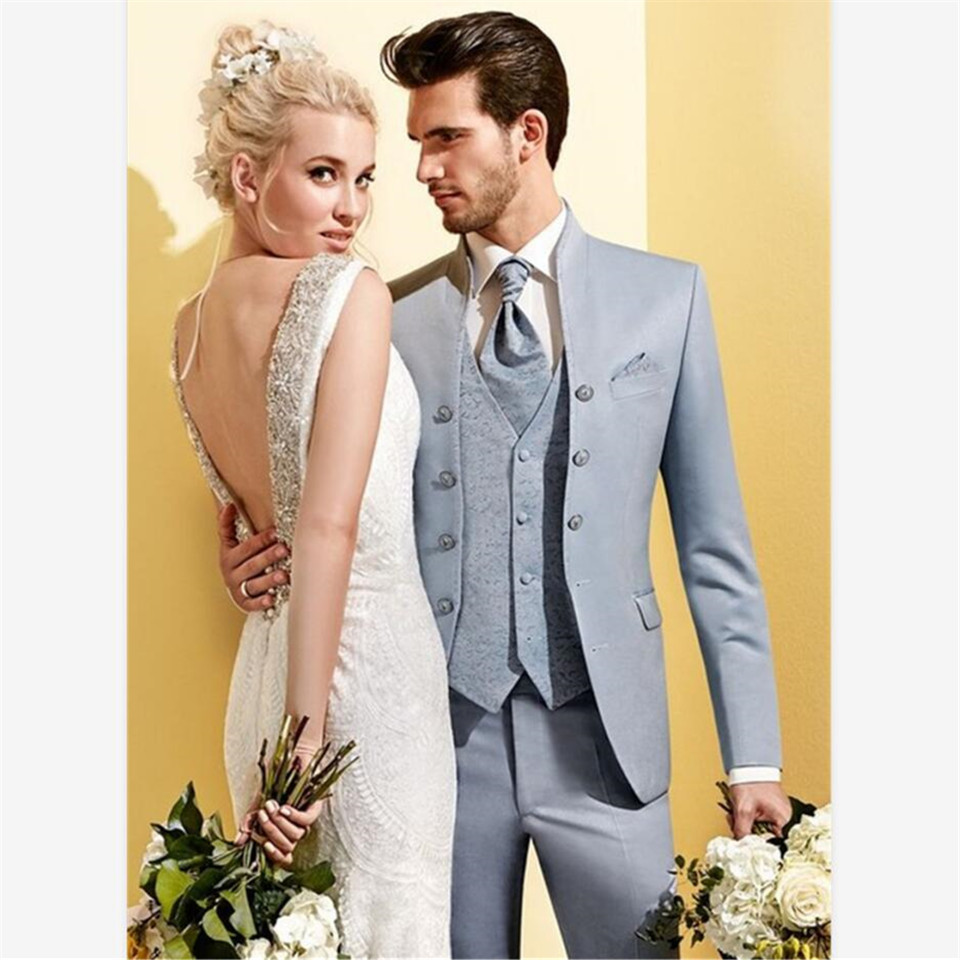 New Classic Men's Suit Smolking Noivo Terno Slim Fit Easculino Evening Suits For Men Party Prom Groom Tuxedos Groomsmen