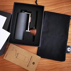 Image 2 - TIMEMORE 나노 플러스 수동 커피 그라인더 휴대용 조정 가능한 설정 원추형 버 작은 손 크랭크 밀 에스프레소 스케일 위에 부어