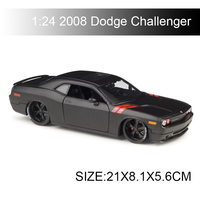 Maisto 1:24 diecast Car 2008 Dodge Challenger Diecast Car Model Toy Vehicle Car Model Maisto Models Kids Car