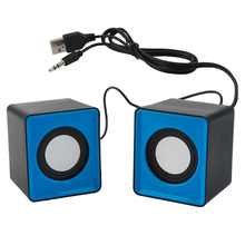 Portable Mini USB 2.0 Speakers Music Stereo For Computer Desktop PC Laptop Notebook Home Theater Party Loudspeaker HOT surround stereo wooden computer speakers home theater multimedia combination subwoofer usb port 2 1 laptop desktop loudspeaker