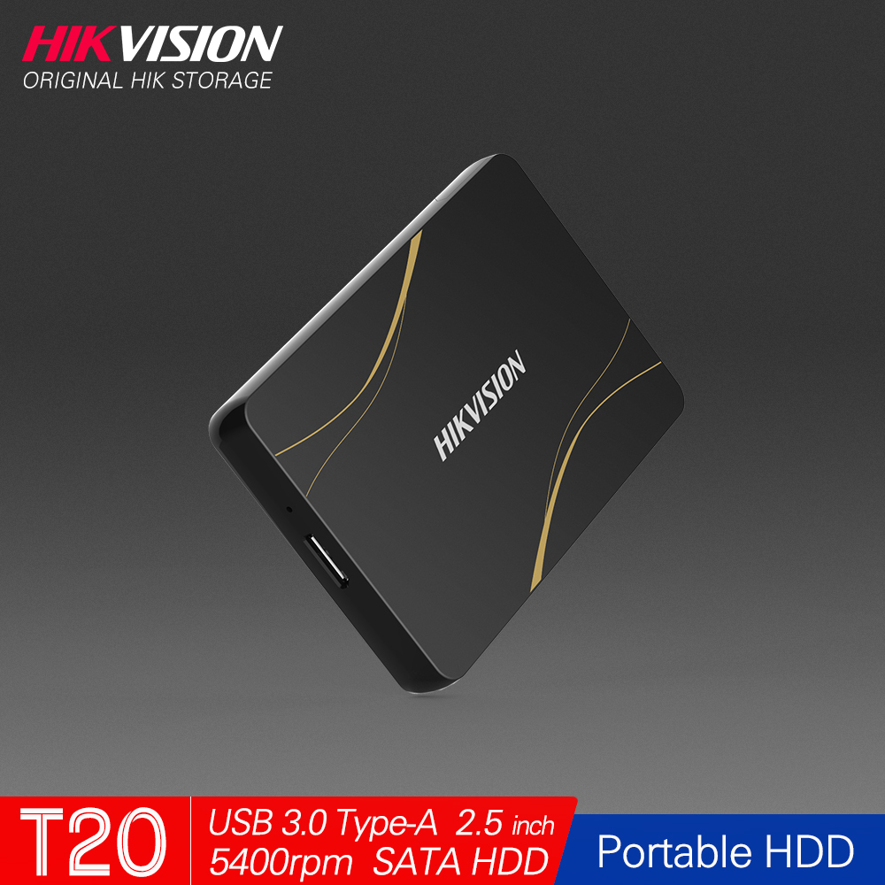Hikvision HikStorage <font><b>HDD</b></font> 1TB Portable Hard Disk DriveExternal <font><b>2TB</b></font> <font><b>HDD</b></font> USB3.0 Type-A Mobile External Storage for PC laptop image