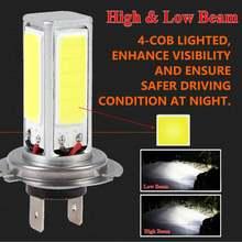 2 шт h7 Автомобильный светодиодный головной светильник 12v 80w