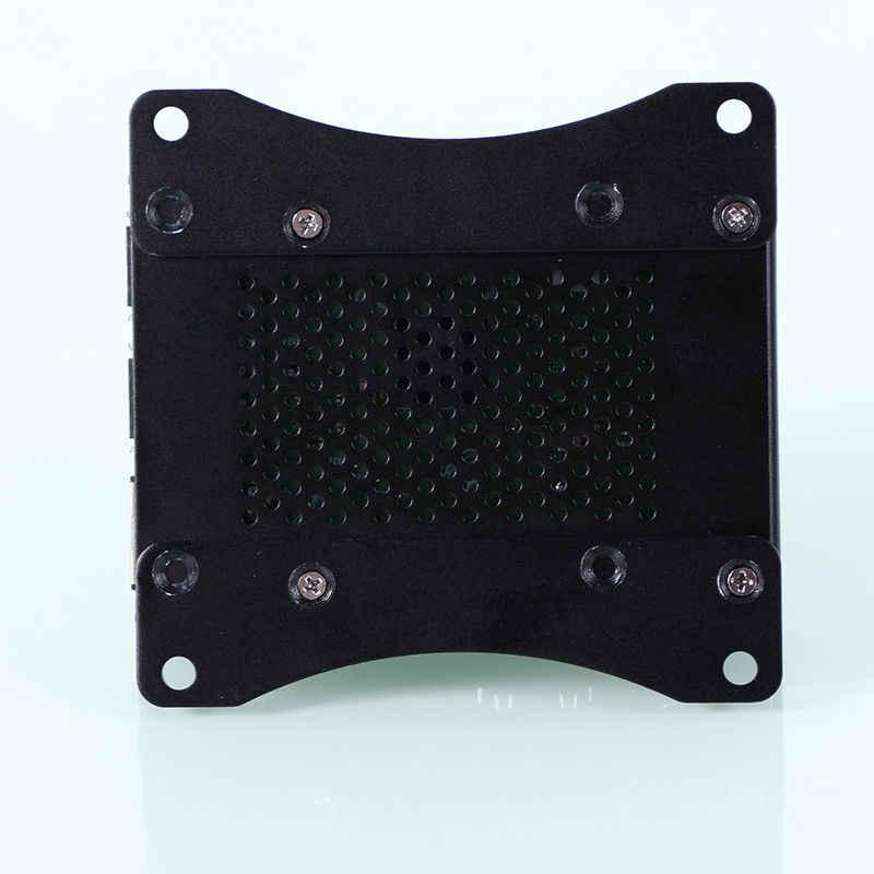أسود/الفضة/الأخضر الألومنيوم سبائك الغبار حالة ل بي 3 نموذج B + 2B 3B 3B + المعادن غطاء قذيفة ل التوت بي حامي حالات