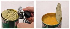Image 3 - ステンレス鋼プロのスズマニュアル缶切りクラフトビールグリップオープナー缶ボトルオープナー台所用品多機能
