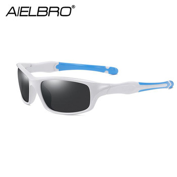 AIRLBRO Cycling Goggle 8 Color Polarized Sunglasses UV400 Cycling Sunglasses Men's Cycling Safety Glasses For Bicycle 4