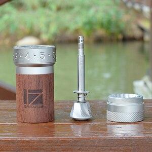 Image 5 - 1zpresso k pro kahve değirmeni taşınabilir manuel kahve değirmeni 304 paslanmaz çelik çapak ayarlanabilir 40mm özel çapak