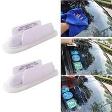 Anti pluie eau voiture pare-brise essuie-glace véhicule pare-brise fenêtre répulsif traitement pluie eau outil verre applicateur R5N1