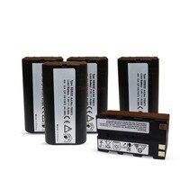5pc למעלה איכות חדשה קיבולת GEB222 7.4V סוללה לסך תחנות GPS  GEB222 שווה ערך גיאודזיה|סוללות חלופיות|מוצרי אלקטרוניקה לצרכנים -