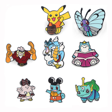Enamel Pin Medal Cartoon Cute Animal Brooches Collection Metal Lapel Badges for backpack Women Men Jewelry Gifts E0706