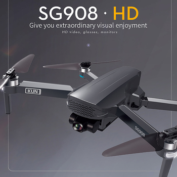 2021 NEWest SG908 Three-Axis Gimbal Drone With 4K Professional Camera 5G GPS WIFI FPV Dron Brushless Motor RC Quadcopter PKSG907 6