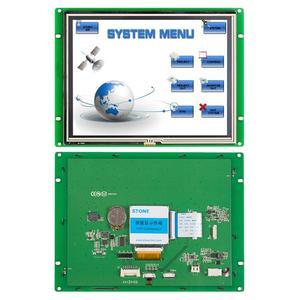 Каменный 8-дюймовый дисплей TFT LCD контроль ler HMI промышленная панель управления Серийный ЖК-панель для оборудования панель управления