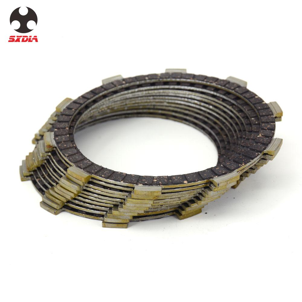 Motocycle Engine Clutch Plates Friction Disc For SUZUKI GSR750 GSR750A GSXR750 RF900R TL1000S GSF1200 GSF1200A GSF1200Z <font><b>GSF1200S</b></font> image
