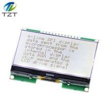 Lcd12864 12864-06d, 12864, módulo lcd, cog, com fonte chinesa, tela de matriz de pontos, interface spi
