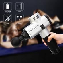 цена на Phoenix A2 Massage Gun Professional Body Relaxation Gun  Relief Pains Fascia Gun Electronical Body Massage Gun Deep Body Massage
