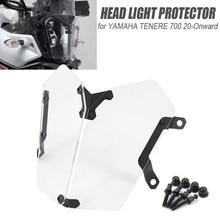 Dla Yamaha Tenere 700 TENERE 700 tiere700 20-dalej akcesoria motocyklowe akrylowa osłona reflektora osłona obiektywu