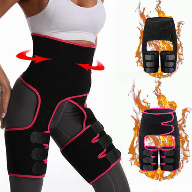 Sweat Belt Slimming Pants Yoga Belly Belt Fitness Running Leggings Sweating Sweat Fever Shaping Lose Weight Pants Leg Sheath