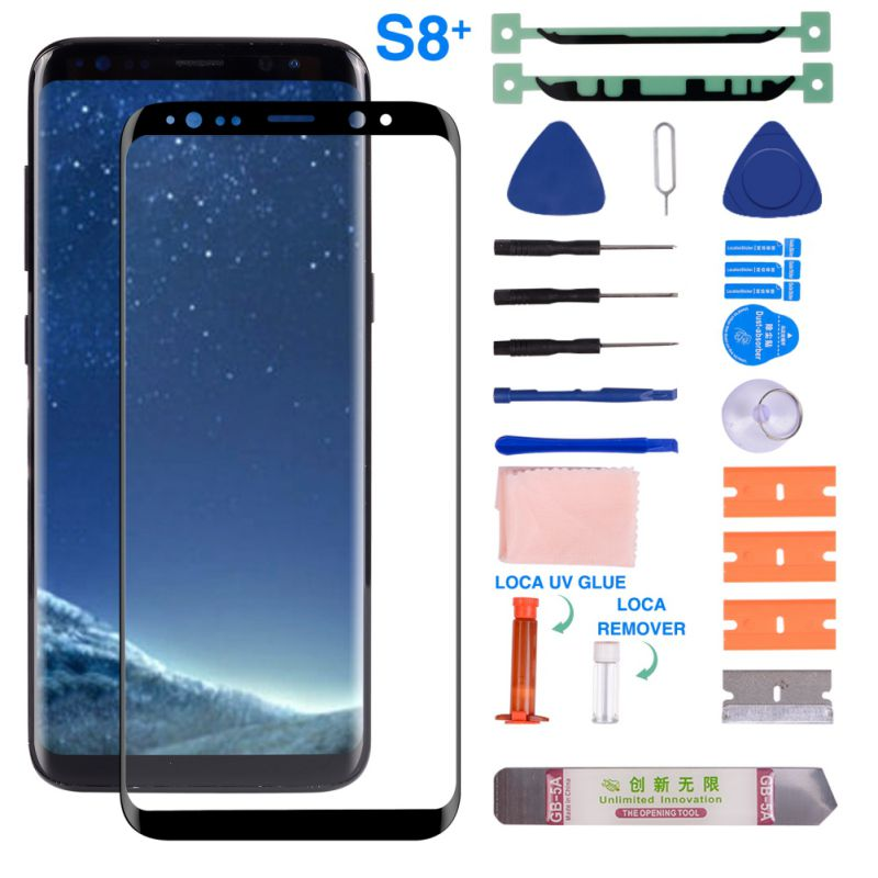 Front Glass Screen With Replacement Repair Kit For Samsung Galaxy S8/S8Plus/S9/S9Plus/S10/S10Plus|Phone Screen Protectors| |  - title=