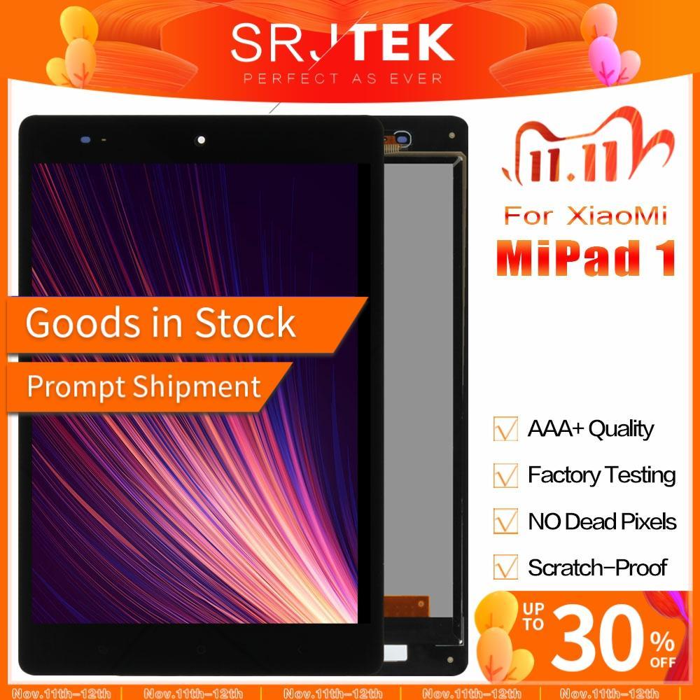 ЖК дисплей SRJTEK 7,9 дюйма для Xiaomi Mipad Mi Pad 1 A0101, сенсорный экран с матрицей, дигитайзер, сенсорная панель, планшетный ПК, Замена ЖК дисплея|ЖК-экраны и панели для планшетов| | АлиЭкспресс