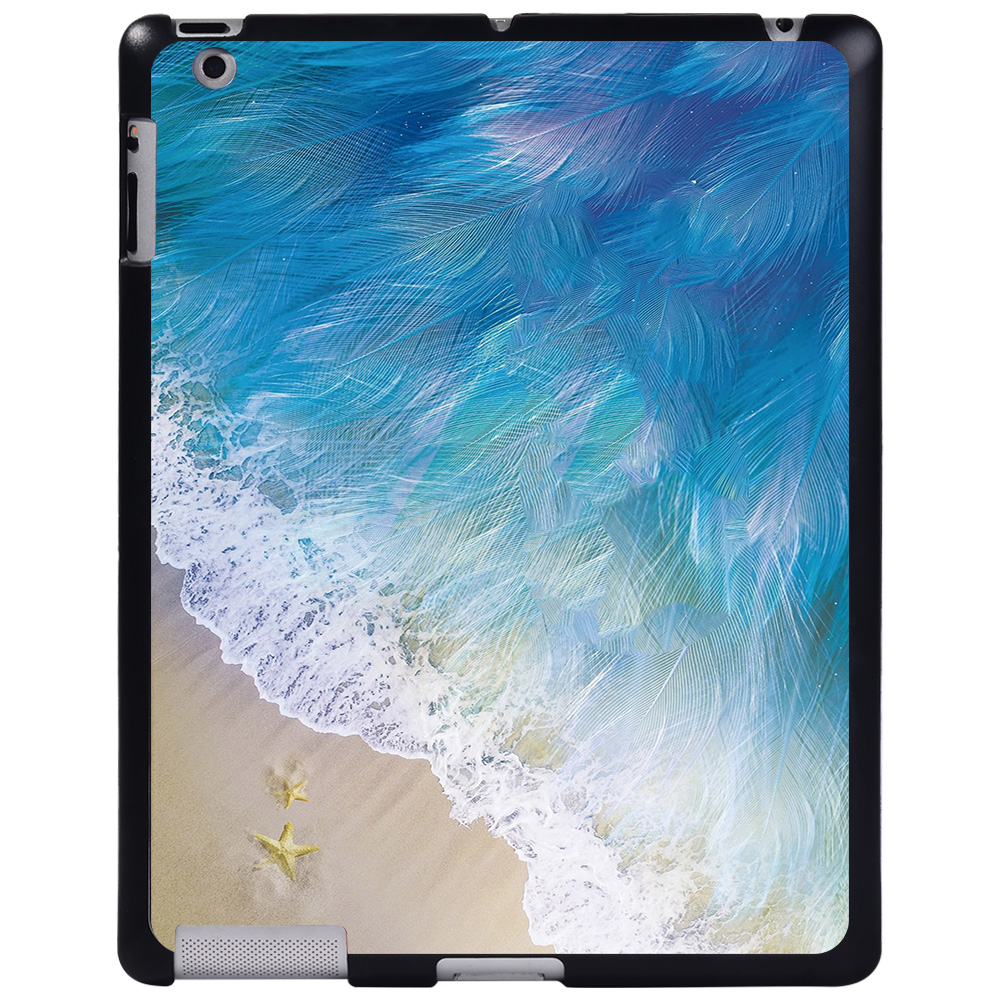 feather beach Gold For Apple iPad 8 10 2 2020 8th 8 Generation A2428 A2429 tablet PC Plastic Printed