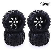 Bigfoot Monster Truck Wheels 170mm Tires 17mm Hex Hub For RC 1/8 Redcat HPI HSP Traxxas Axial Himoto Upgrade Tires Parts.(China)