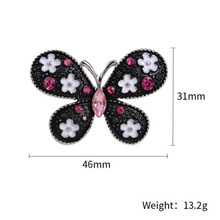 Fashion New Ladys Beautiful Creative Retro Butterfly Brooch!