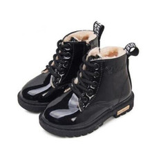 Boots Boys Shoes Spring Toddler Girls Fashion NEW Warm Autumn