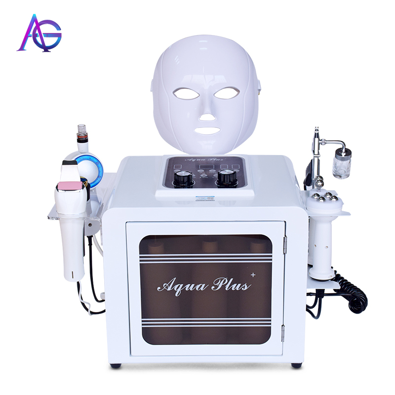 Wholesale 8 In 1 Small Bubble Beauty Machine For Skin Care And Facial Cleaning Machine