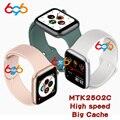 IWO 18 MTK2502C большой ROM Смарт-часы для женщин и мужчин фитнес-трекер Браслет пульсометр полный сенсорный Q99 PK W55 W54