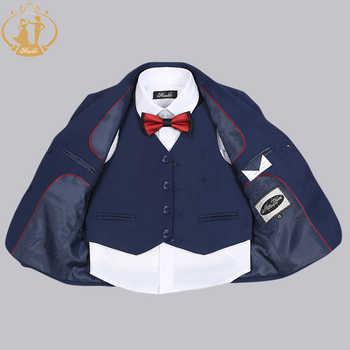Boys Suits for Weddings Costume Enfant Garcon Mariage Boys Blazer Jogging Garcon Kids Suits Suit for Boy Jackets Vest Pants 3pcs