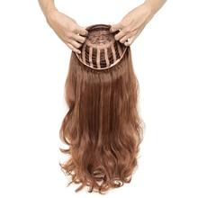 #27 #60 #613 włosy ludzkie w kolorze blond Sheitels koszerna peruka 3/4 pół peruki naturalne fale otwarty wątek brak koronkowa peruka Hairpiece dla białych kobiet