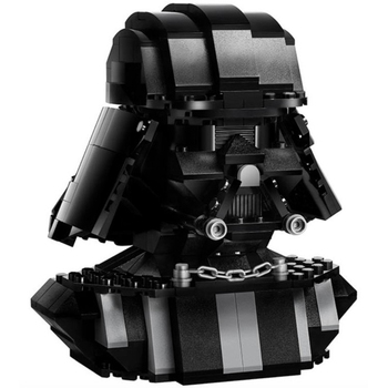 Star Wars Series Building Blocks Compatible 75227-1 Darth Vader Bust Technic Bricks Gifts Fit lepining Diy Toy Christmas Gift hasbro star wars 40th anniversary black series titanium series figure darth vader leia organa solo collection toy model gift