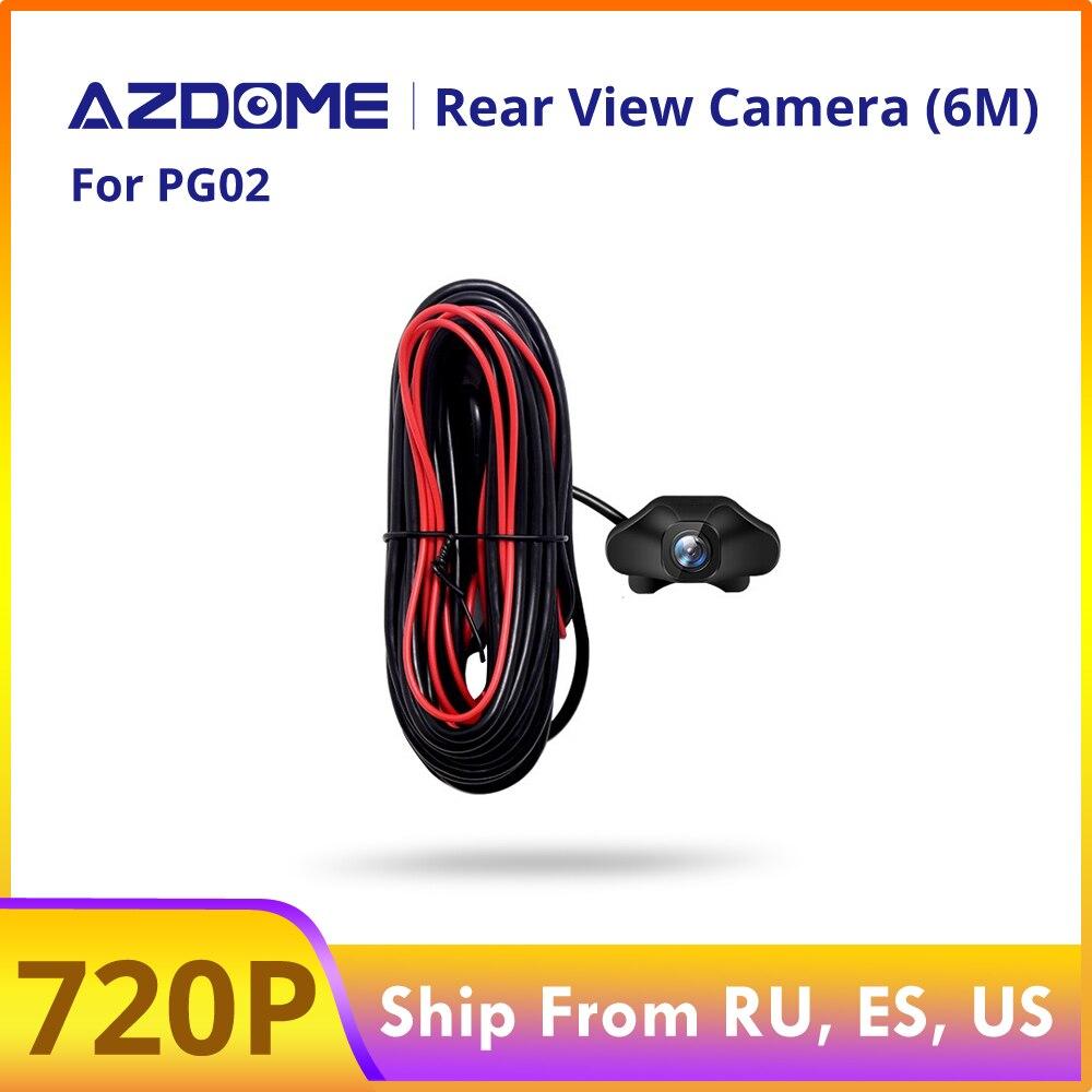 AZDOME 720P Автомобильная камера заднего вида для PG02 зеркальная тире камера Автомобильный видеорегистратор видео рекордер Водонепроницаемая к...